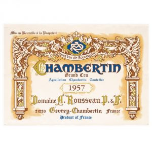 Chambertin Grand Cru - Bourgogne Collection - Torchons & Bouchons Kitchen Towel