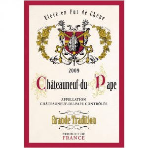 Chateauneuf Grande Tradition - Provence Cote D'azur Collection - Torchons & Bouchons Kitchen Towel