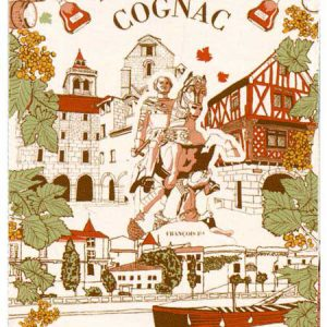 Cognac - Bordeaux Collection - Torchons & Bouchons Kitchen Towel