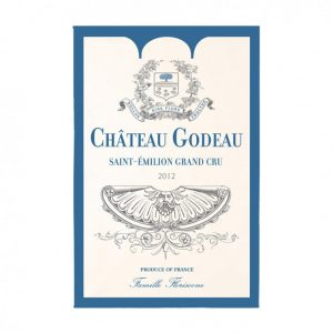 Saint Emilion Chateau Godeau - Bordeaux Collection - Torchons & Bouchons Kitchen Towel