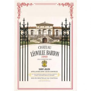 Chateau Leoville Barton - Bordeaux Collection - Torchons & Bouchons Kitchen Towel