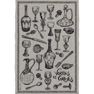 Verres & Carafes - Gastronomie Le Lin Collection - Torchons & Bouchons Kitchen Towel