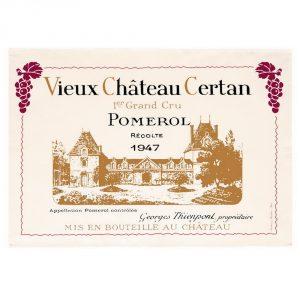 Vieux Chateau Certan - Bordeaux Collection - Torchons & Bouchons Kitchen Towel