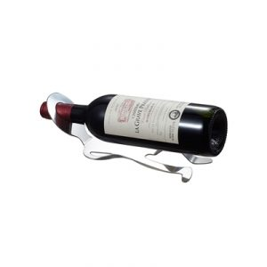 Malbec Stainless Steel Wine Bottle Holder