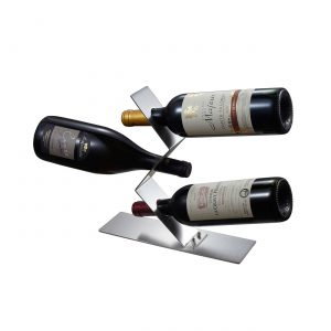 Chablis Stainless Steel Wine Bottle Holder
