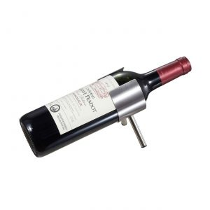 Falerno Stainless Steel Wine Bottle Holder