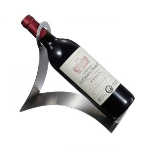 Volnay Stainless Steel Wine Bottle Holder
